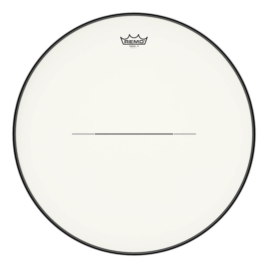 """Product Cover for Timpani, Hazy, 22"""" Diameter, Low-profile Steel Insert Ring"""