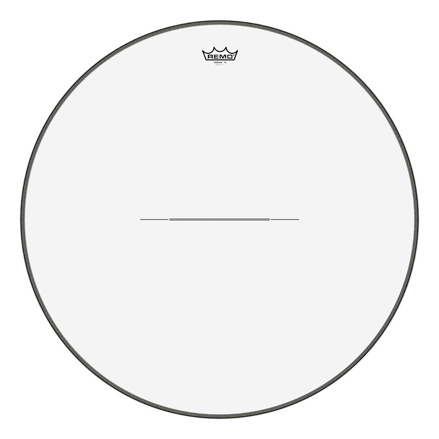 """Product Cover for Timpani, Clear, 28"""" Diameter, Steel Insert Ring"""