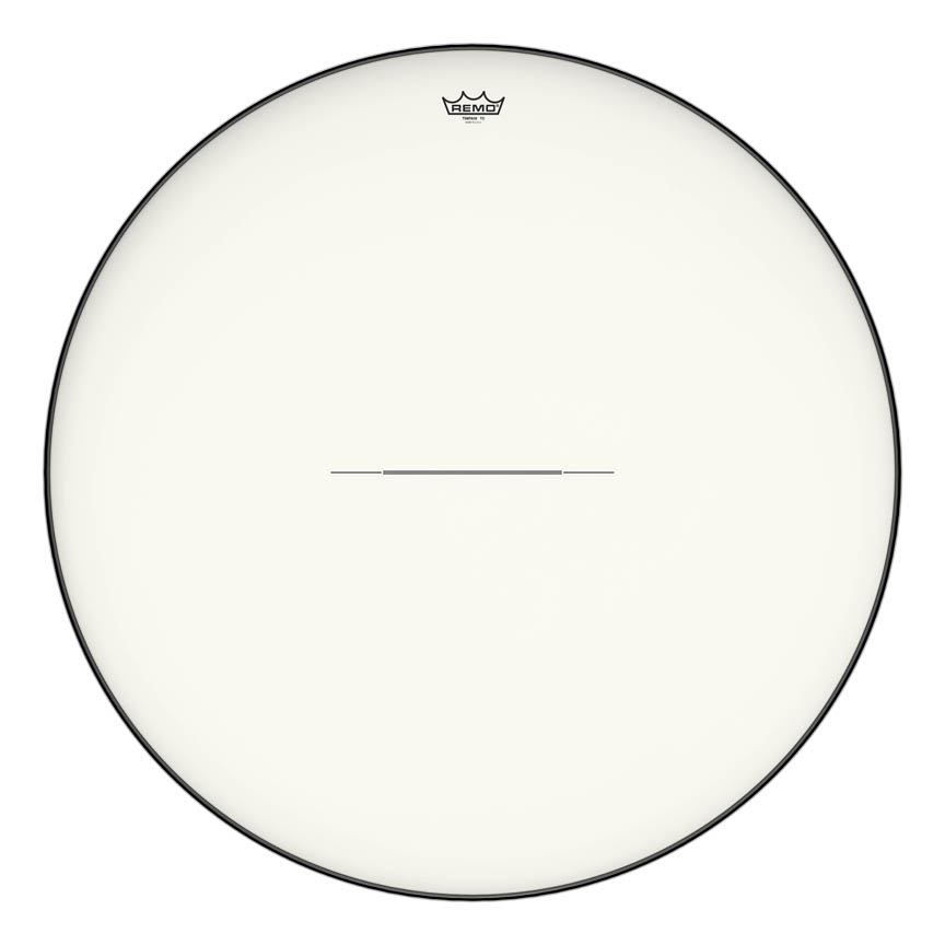 """Product Cover for Timpani, Hazy, 34"""" Diameter, Low-profile Steel Insert Ring"""