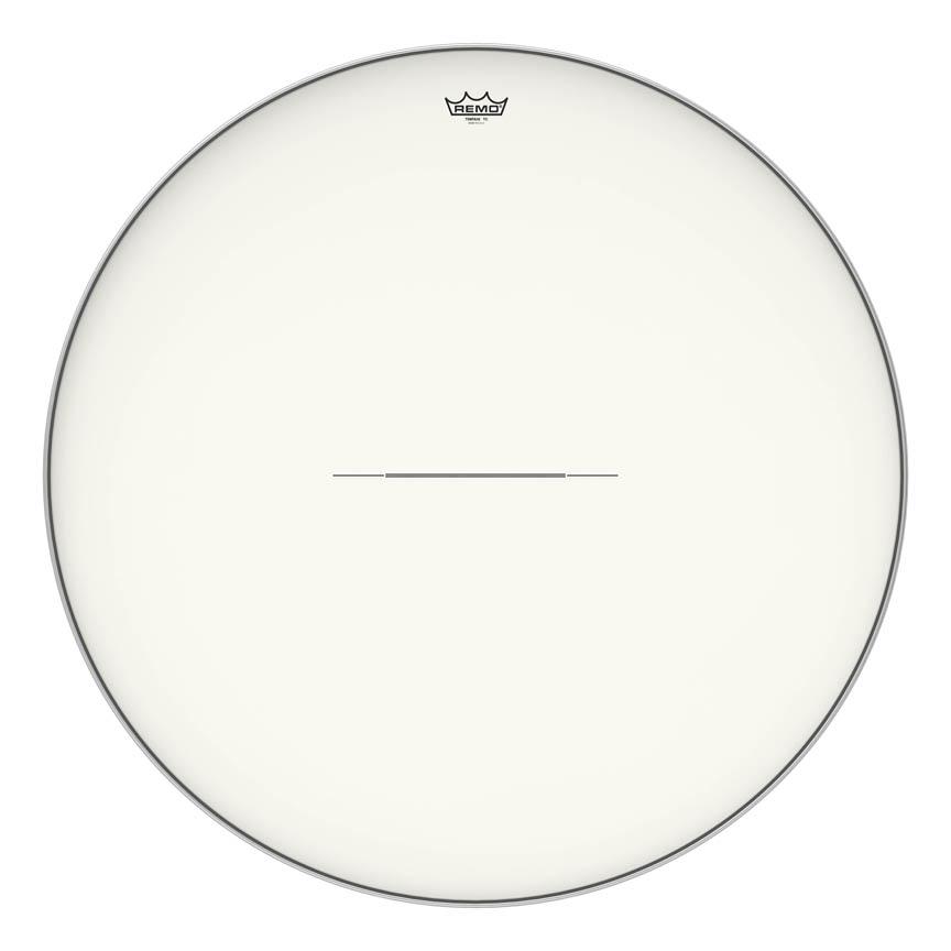 "Product Cover for Timpani, Hazy, 34"" Diameter, Aluminum Insert Ring"