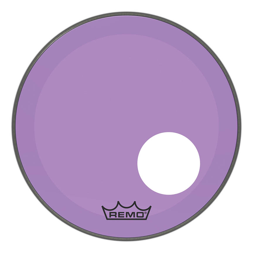 Product Cover for Powerstroke® P3 Colortone™ Purple Skyndeep® Drumhead with 5″ Offset Hole
