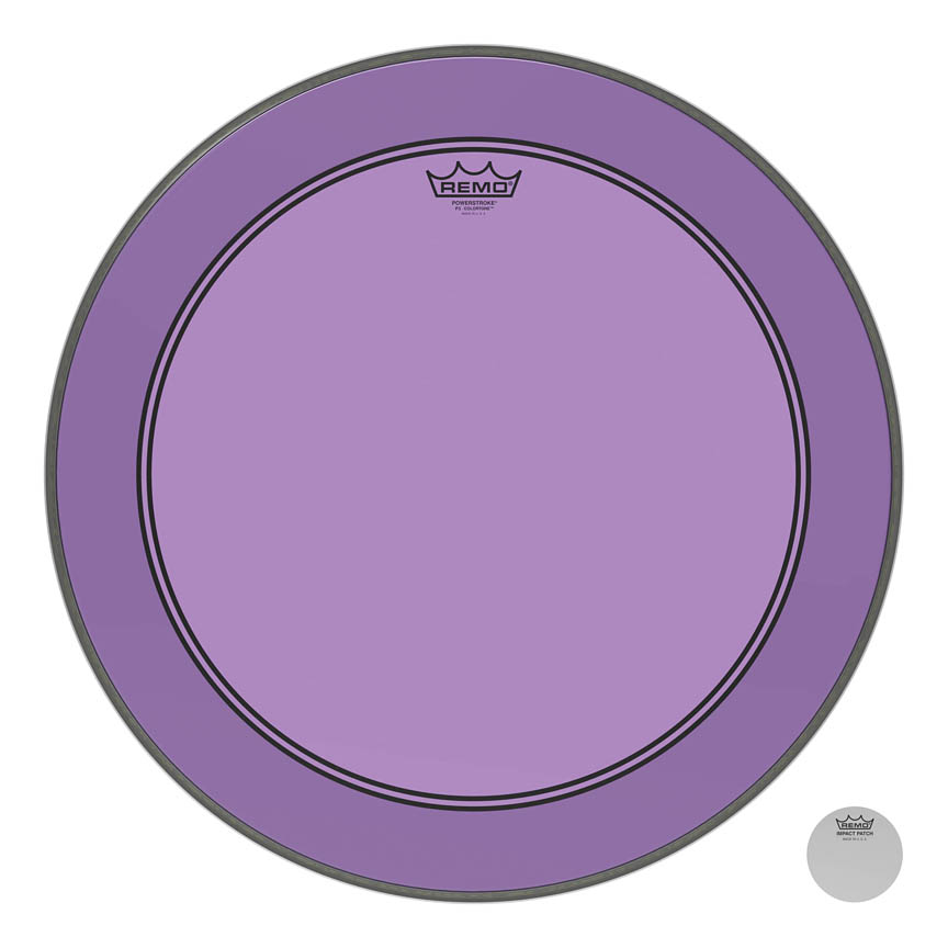 Product Cover for Powerstroke® P3 Colortone™ Purple Skyndeep® Drumhead