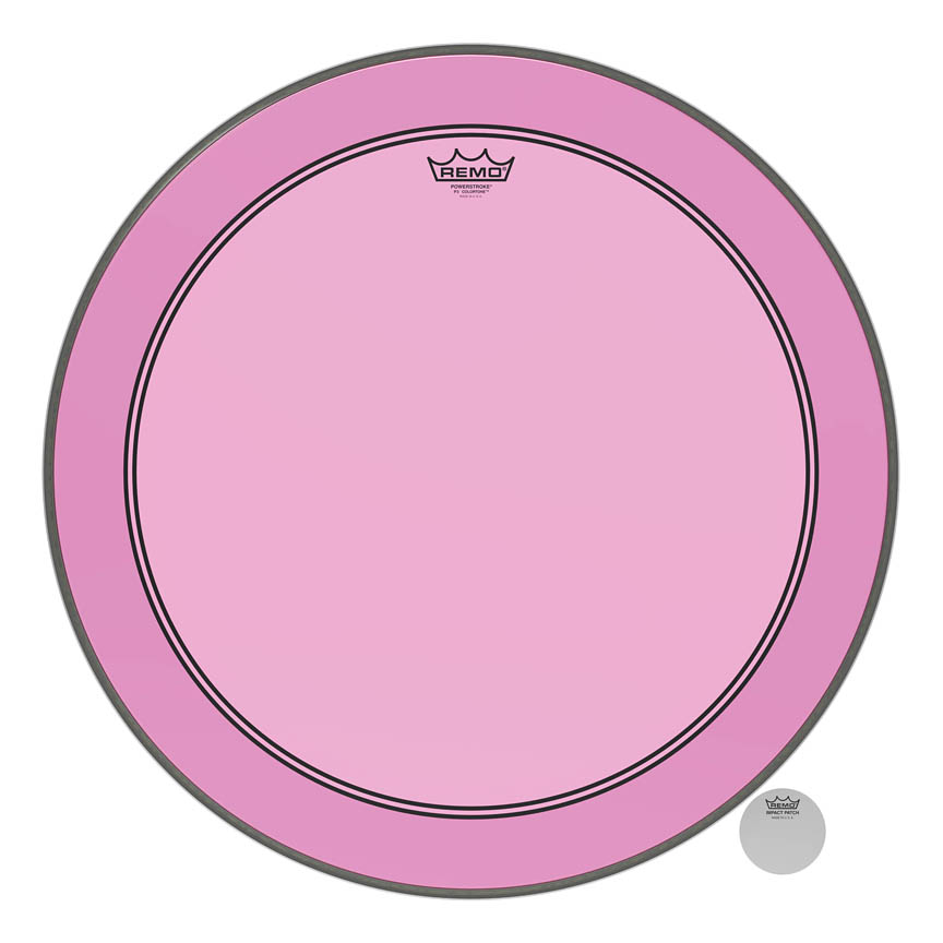 Product Cover for Powerstroke® P3 Colortone™ Pink Skyndeep® Drumhead