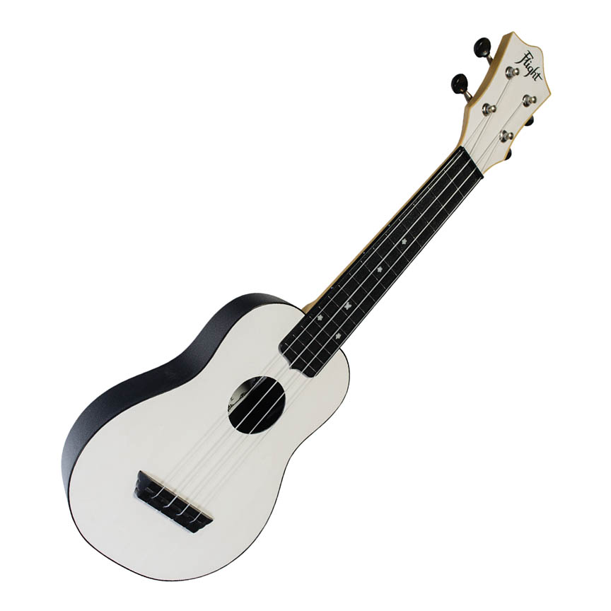 Product Cover for White Soprano Ukulele