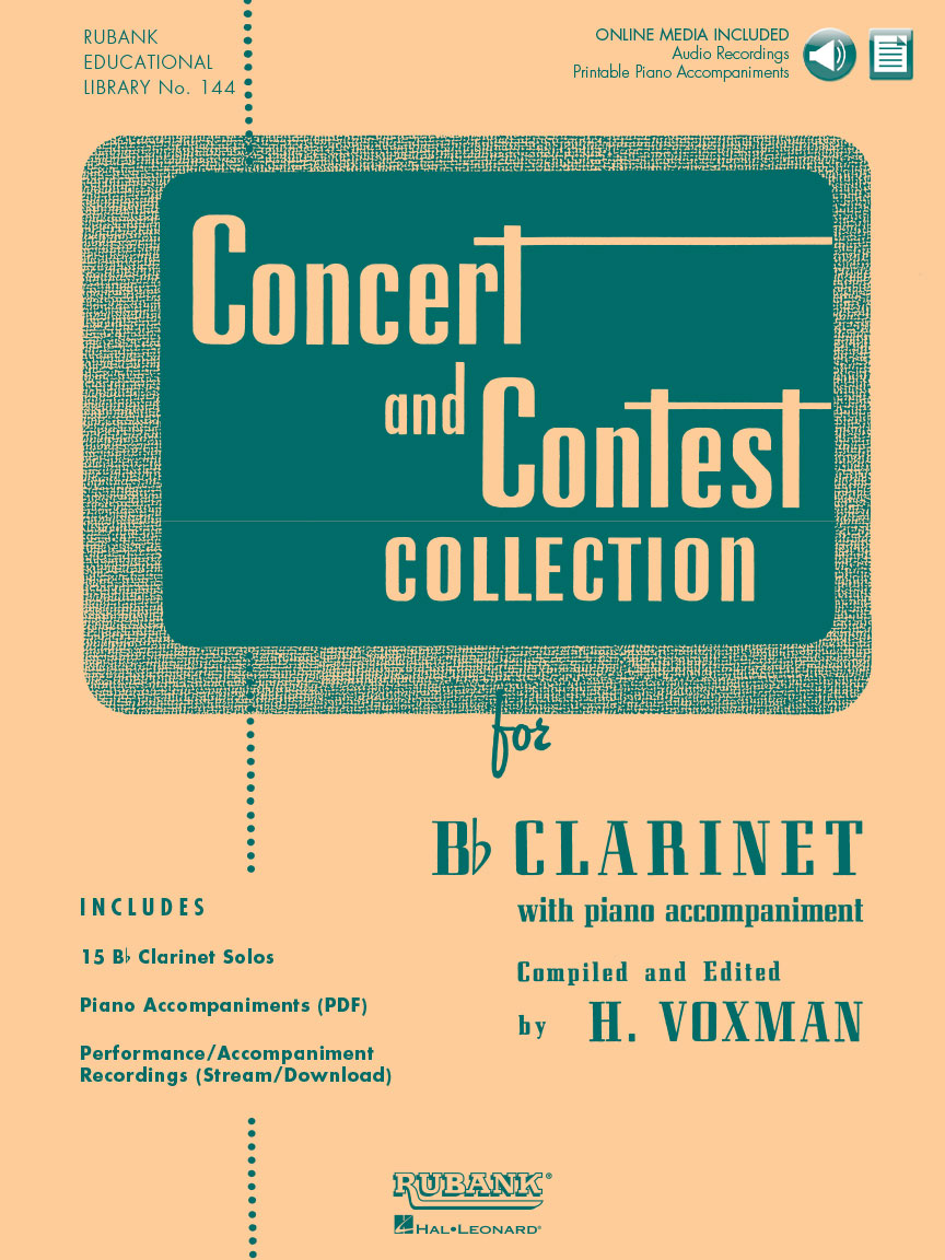 Product Cover for Concert and Contest Collection for Bb Clarinet
