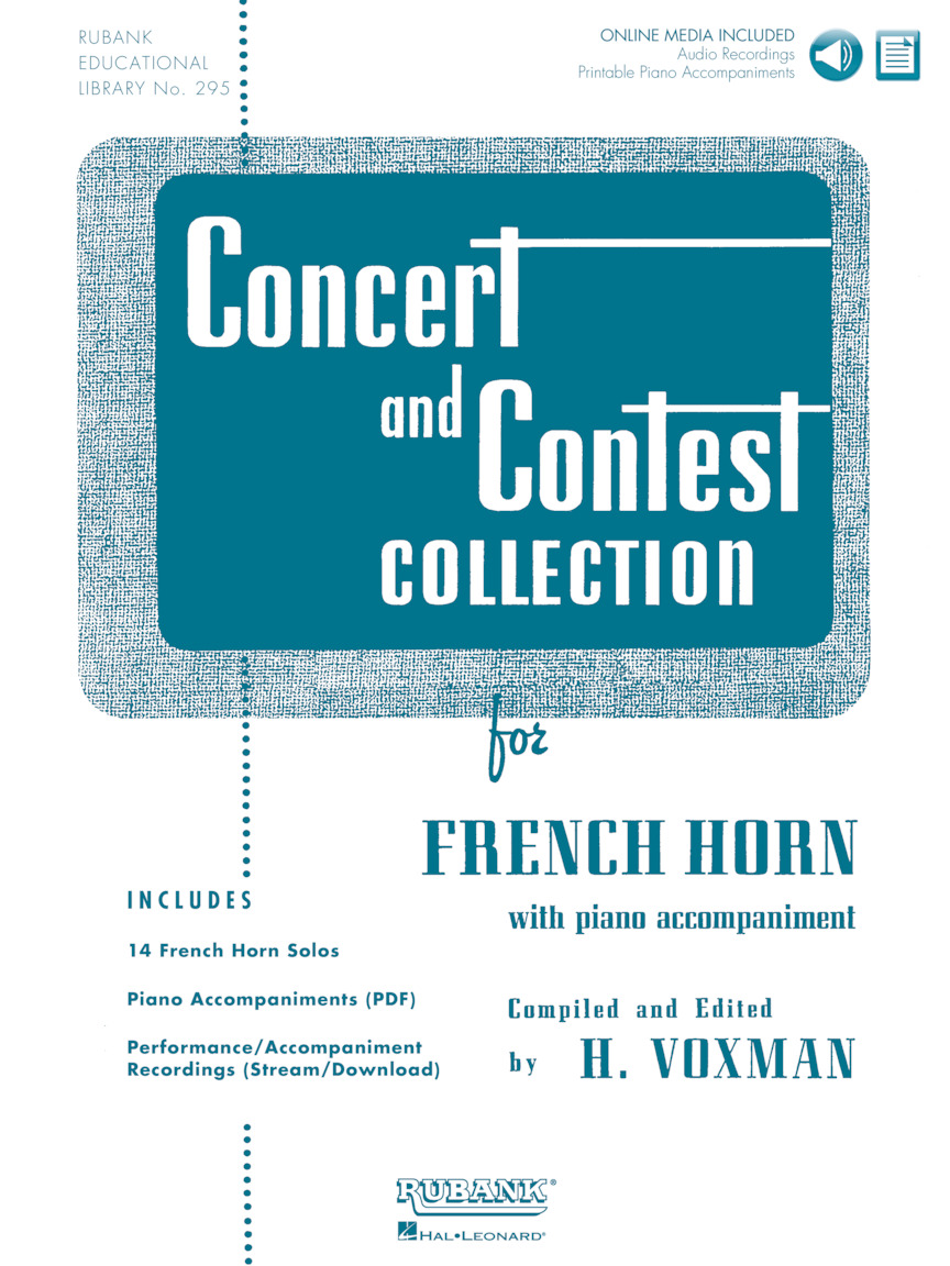 Product Cover for Concert and Contest Collection for French Horn