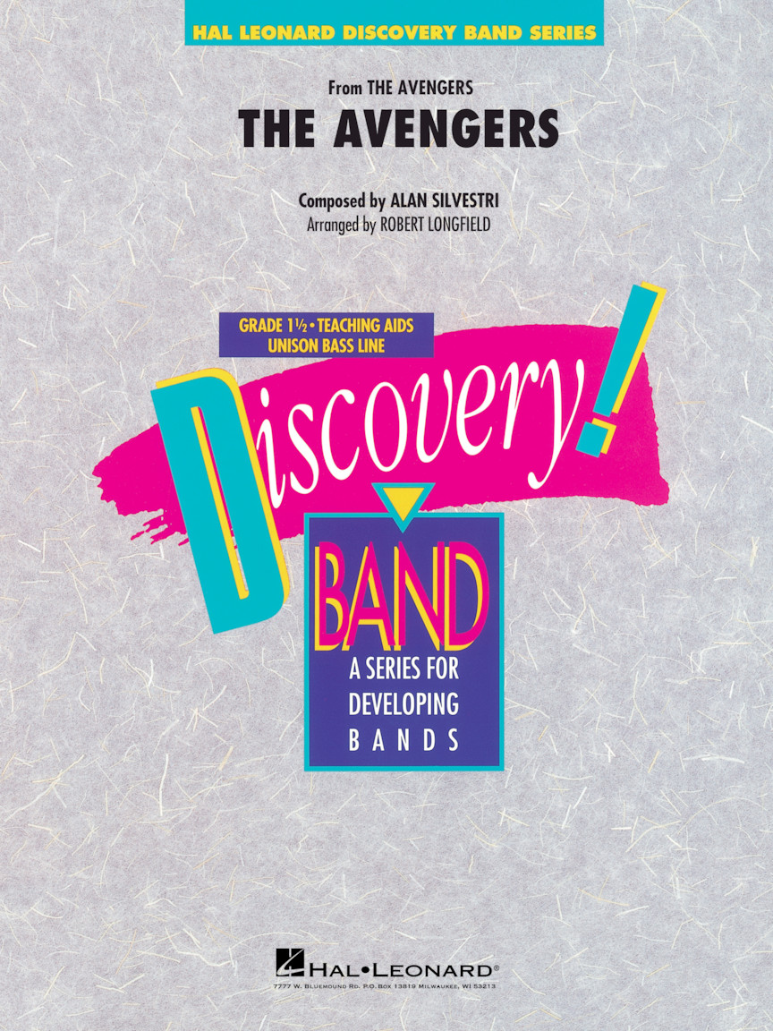 The Avengers | Hal Leonard Online