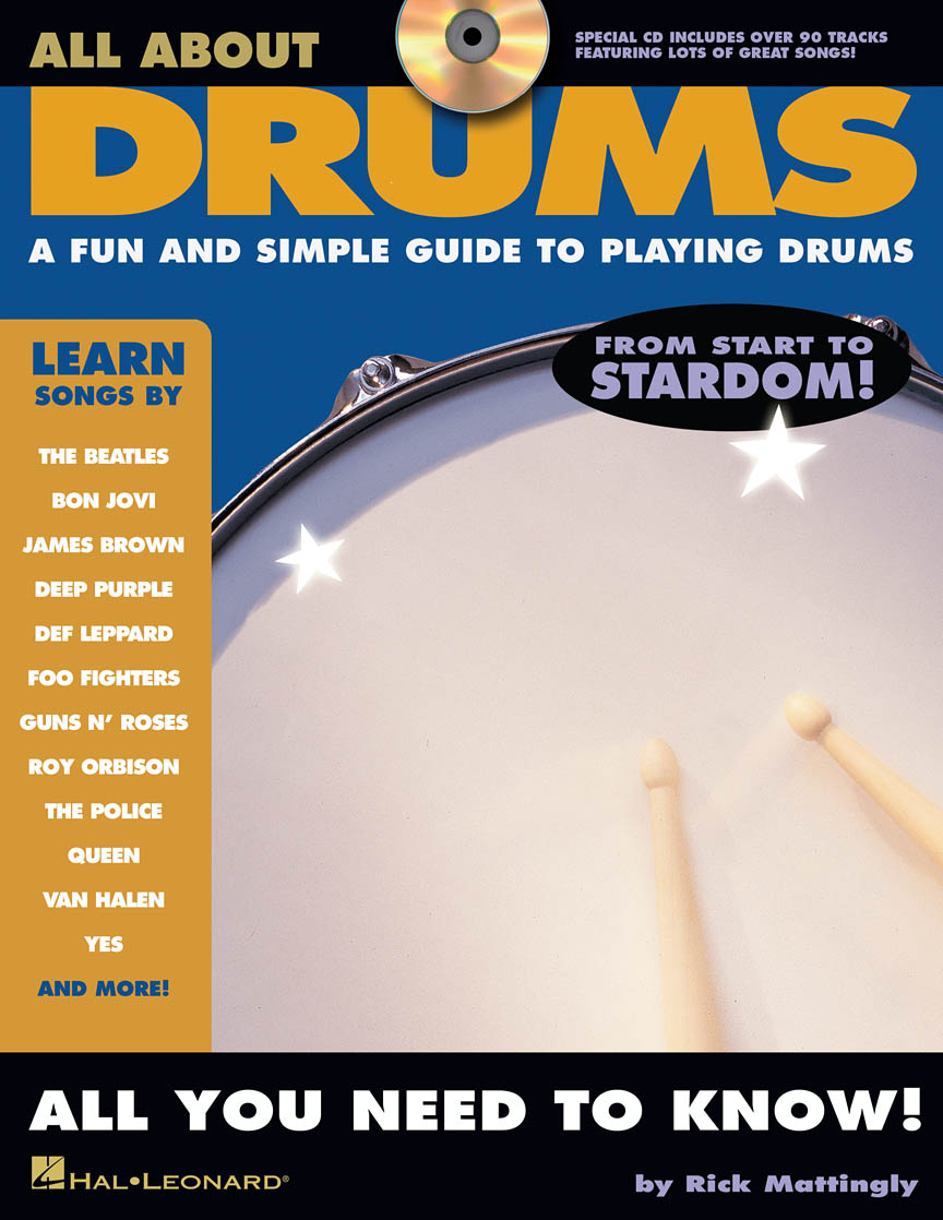 Product Cover for All About Drums