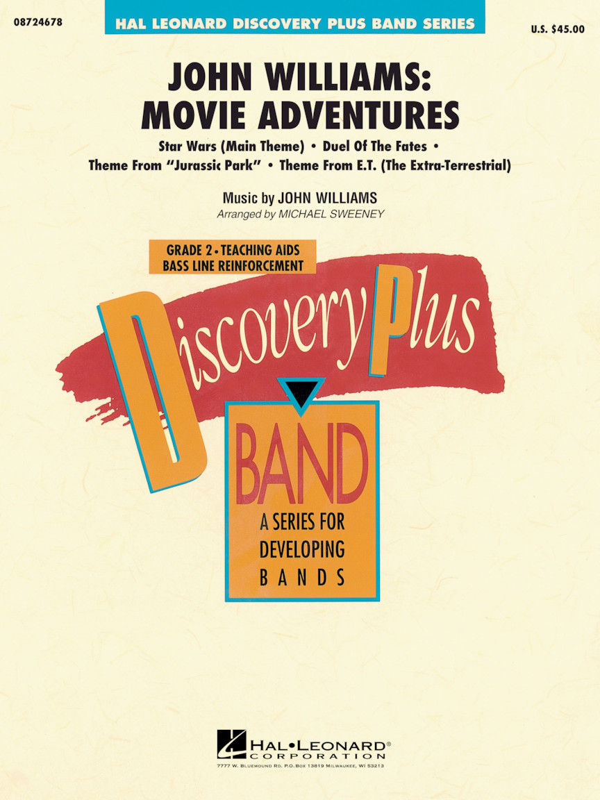 Product Cover for John Williams: Movie Adventures
