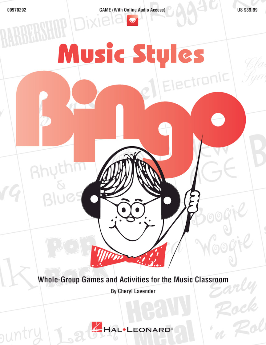 Product Cover for Music Styles Bingo