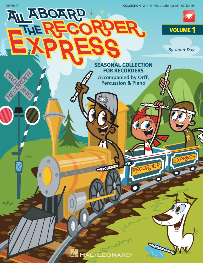 Product Cover for All Aboard The Recorder Express - With Reproducible Pages