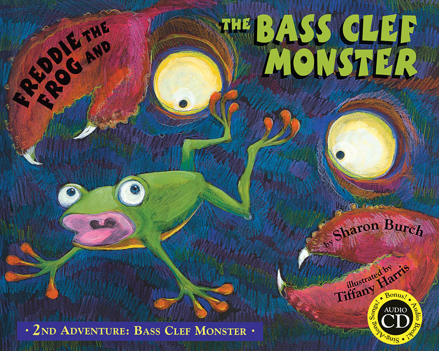 Product Cover for Freddie the Frog and the Bass Clef Monster