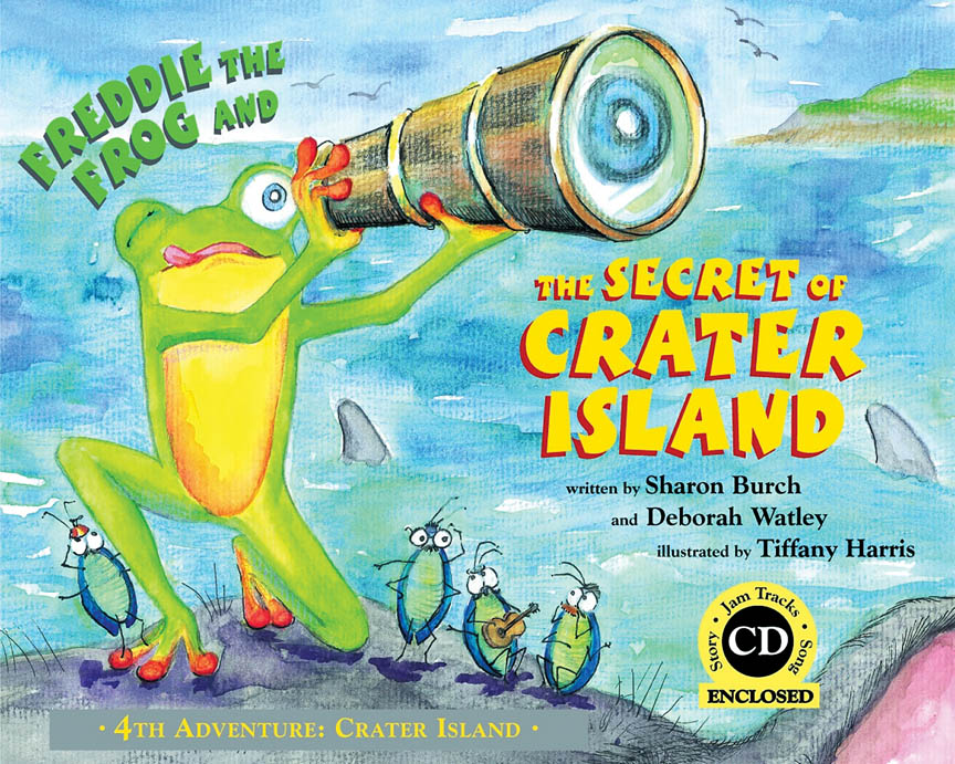 Product Cover for Freddie the Frog and the Secret of Crater Island