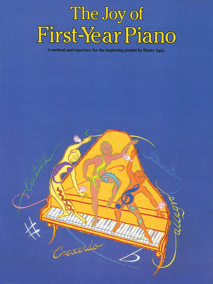 Product Cover for The Joy of First Year Piano