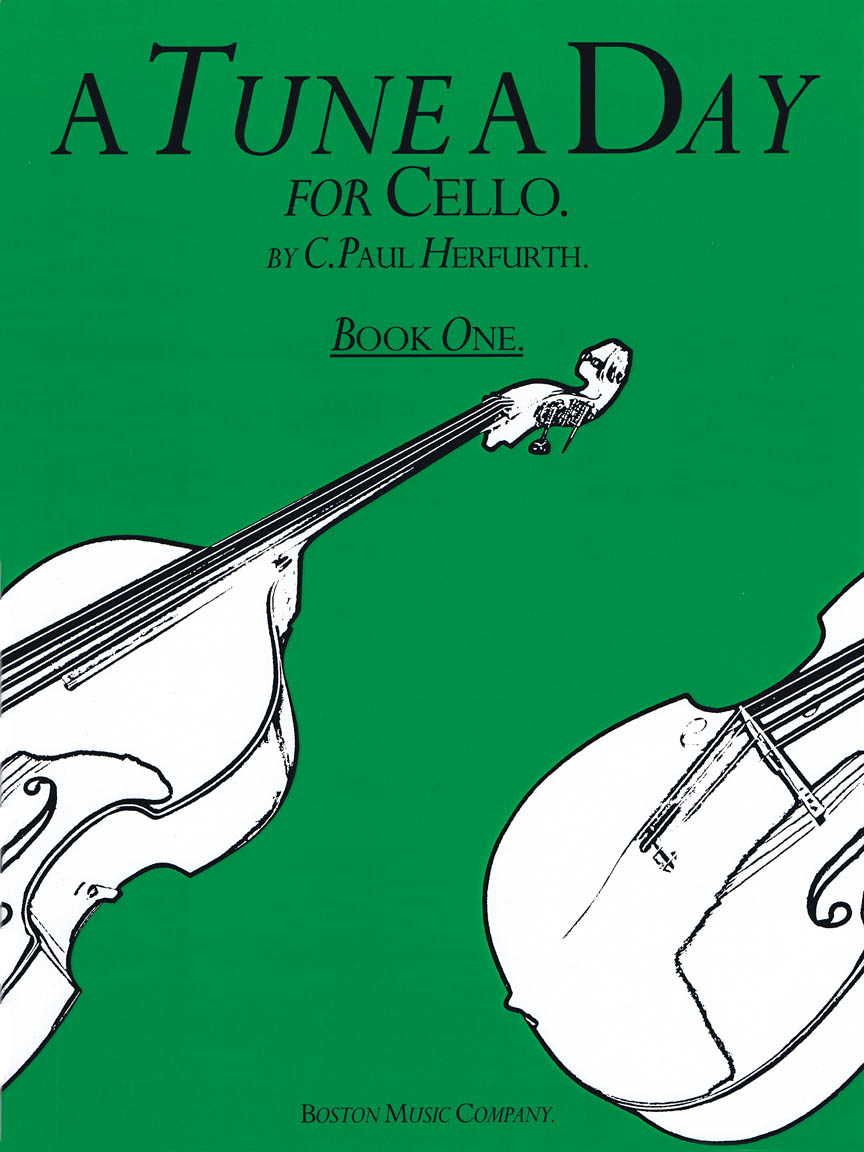 Product Cover for A Tune a Day – Cello