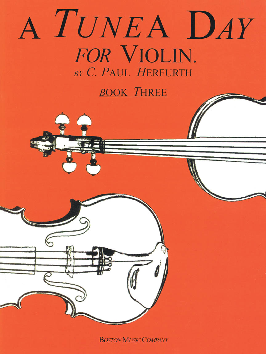 Product Cover for A Tune a Day – Violin