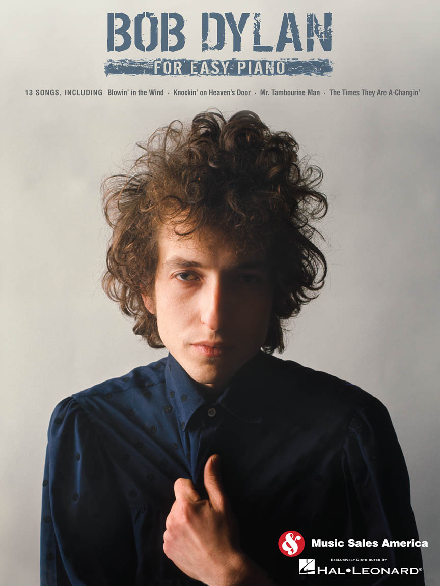 Product Cover for Bob Dylan for Easy Piano