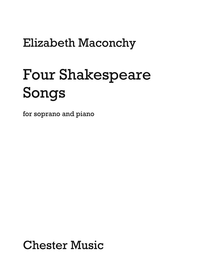 Product Cover for Four Shakespeare Songs