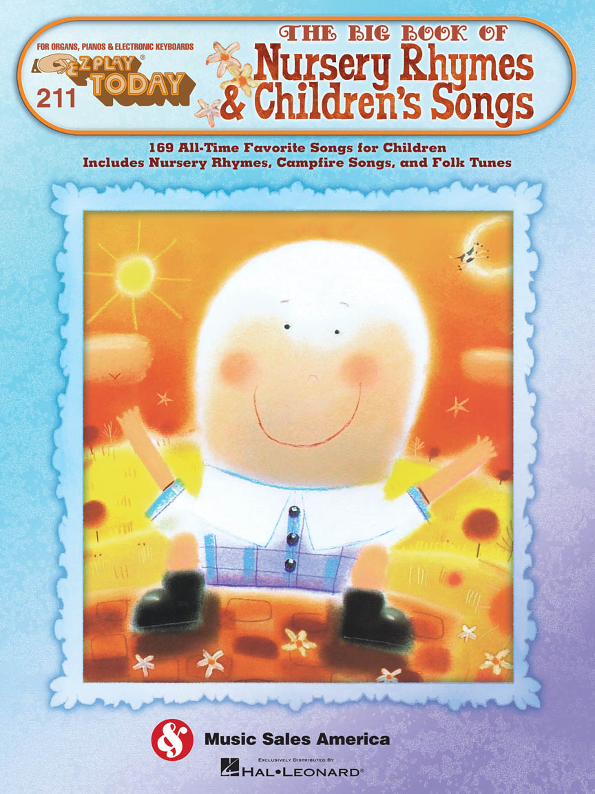 Product Cover for 211. The Big Book of Nursery Rhymes & Children's Songs