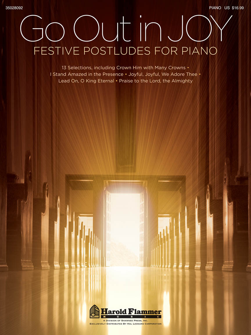 Product Cover for Go Out in Joy – Festive Postludes for Piano