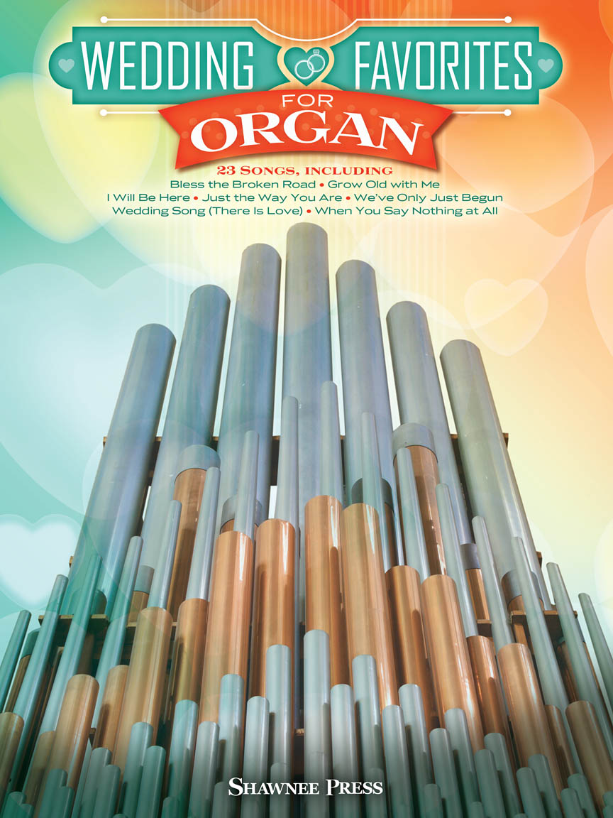 Product Cover for Wedding Favorites for Organ