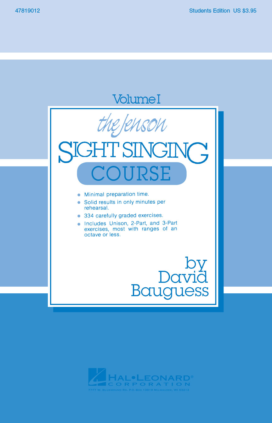 Product Cover for The Jenson Sight Singing Course (Vol. I)