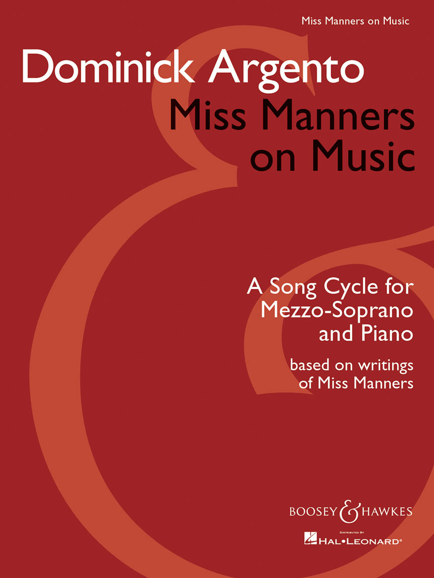 Product Cover for Miss Manners on Music
