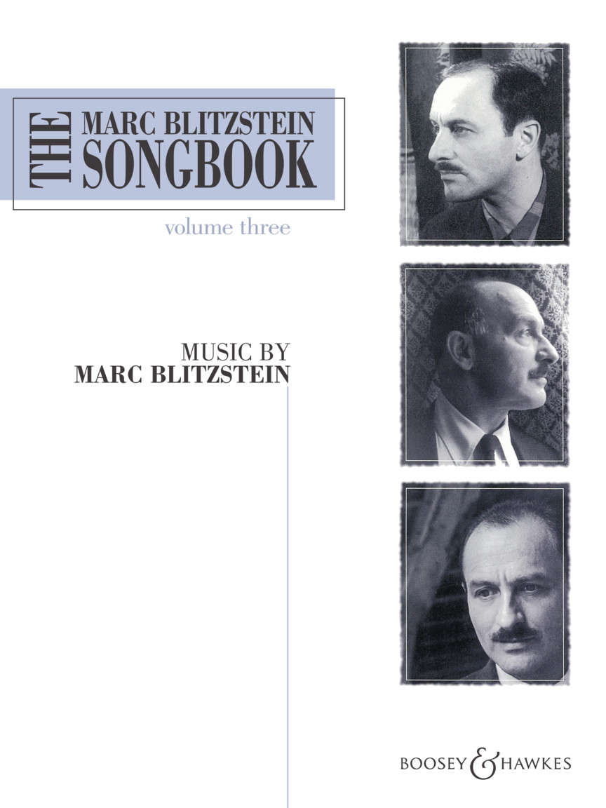 Product Cover for The Marc Blitzstein Songbook – Volume 3