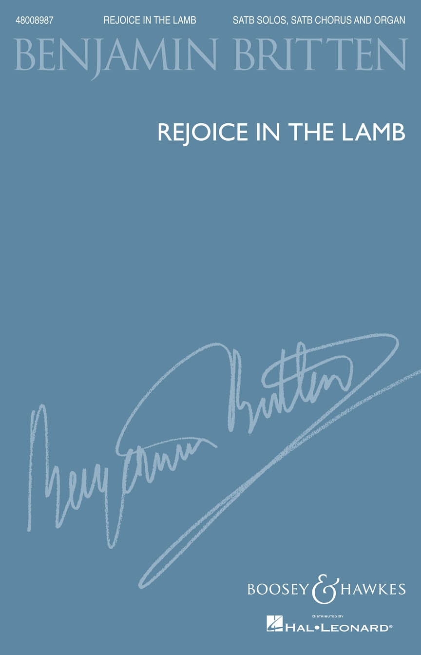 Product Cover for Rejoice in the Lamb, Op. 30
