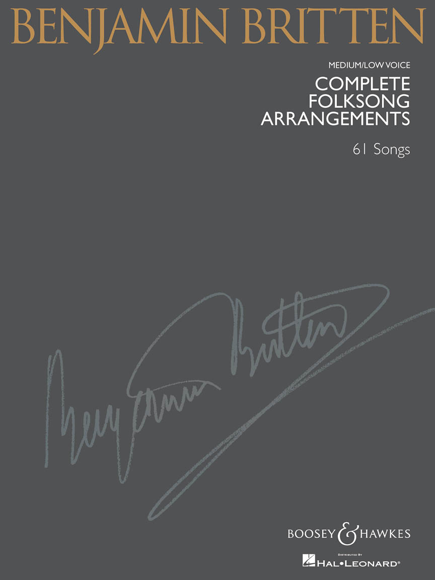 Product Cover for Complete Folksong Arrangements