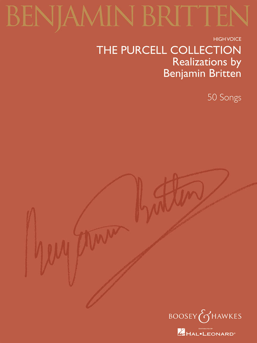 Product Cover for The Purcell Collection – Realizations by Benjamin Britten