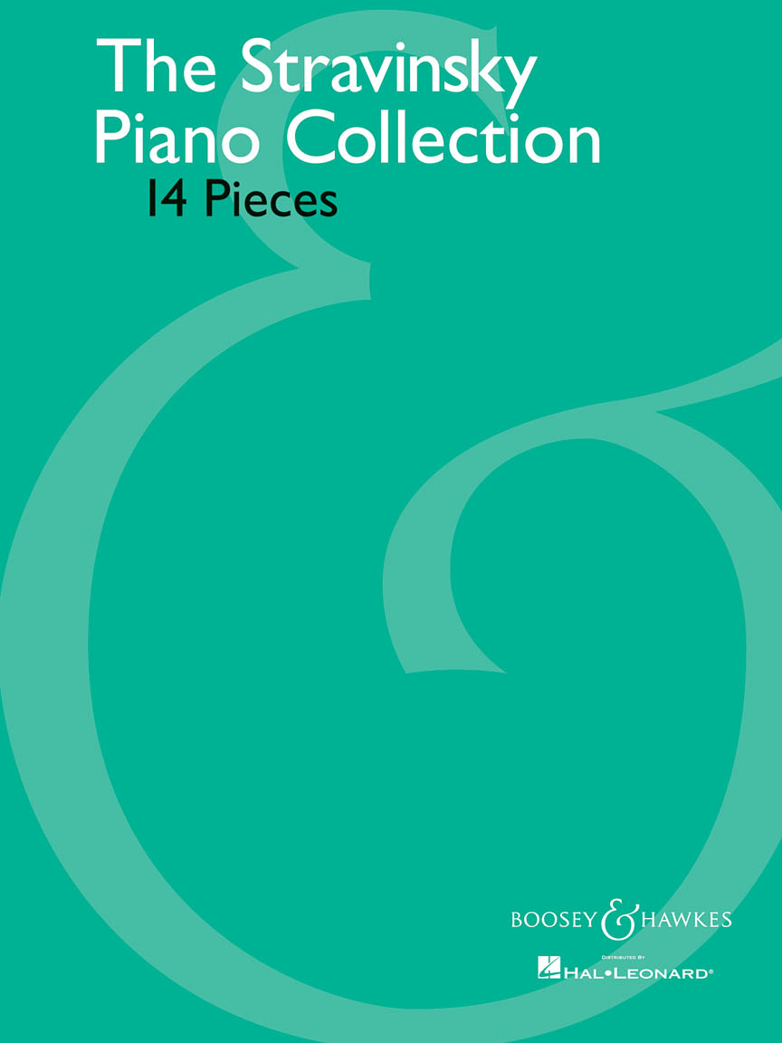 Product Cover for The Stravinsky Piano Collection