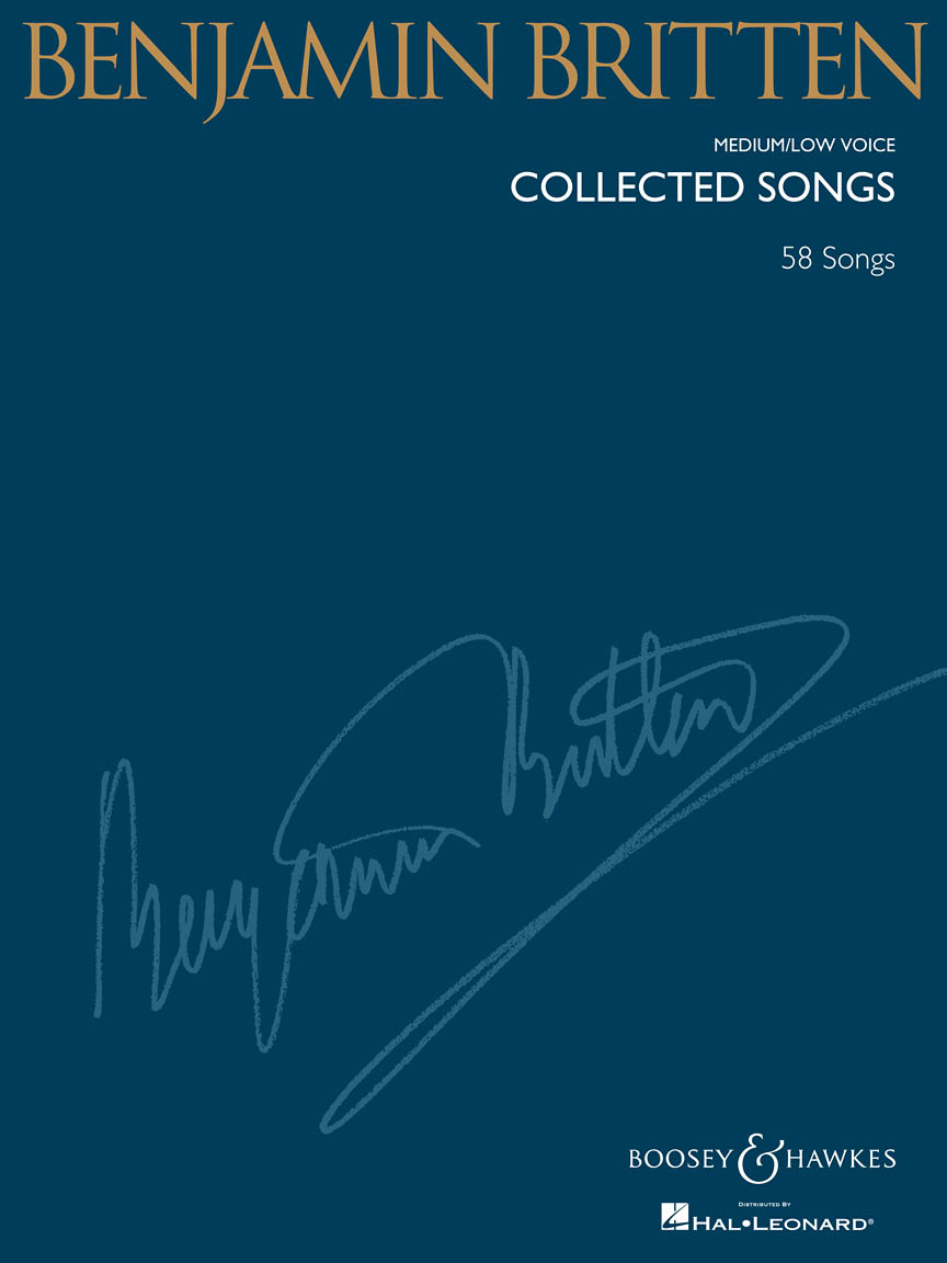 Product Cover for Benjamin Britten – Collected Songs