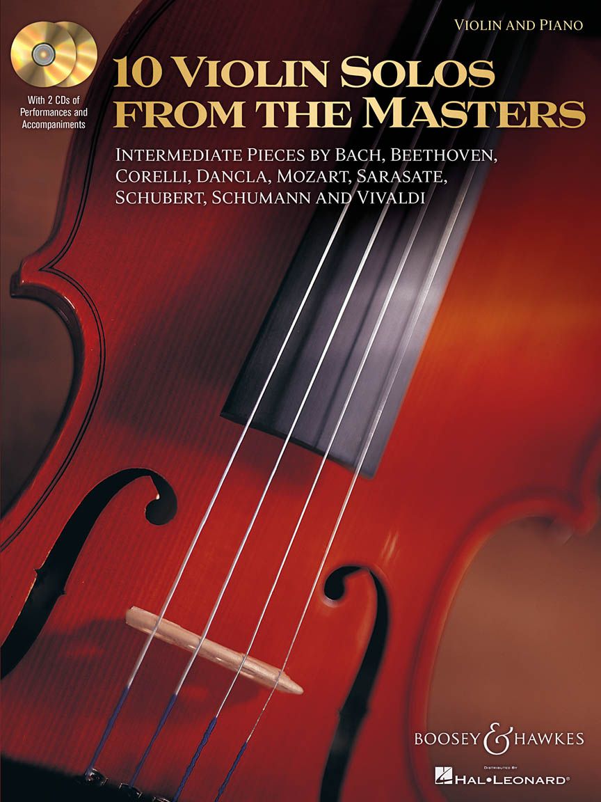 Product Cover for 10 Violin Solos from the Masters