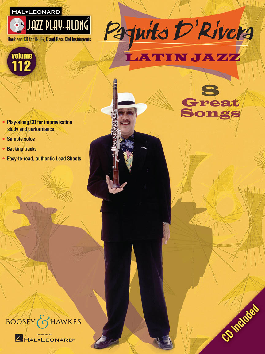 Product Cover for Paquito D'Rivera – Latin Jazz