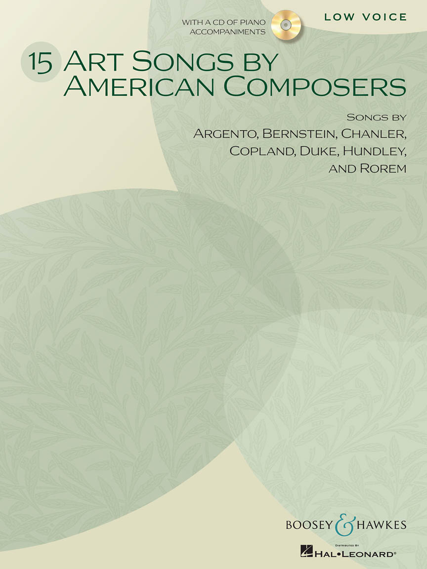 Product Cover for 15 Art Songs by American Composers