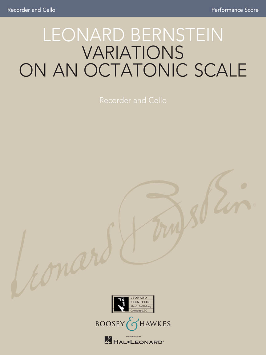 Product Cover for Variations on an Octatonic Scale