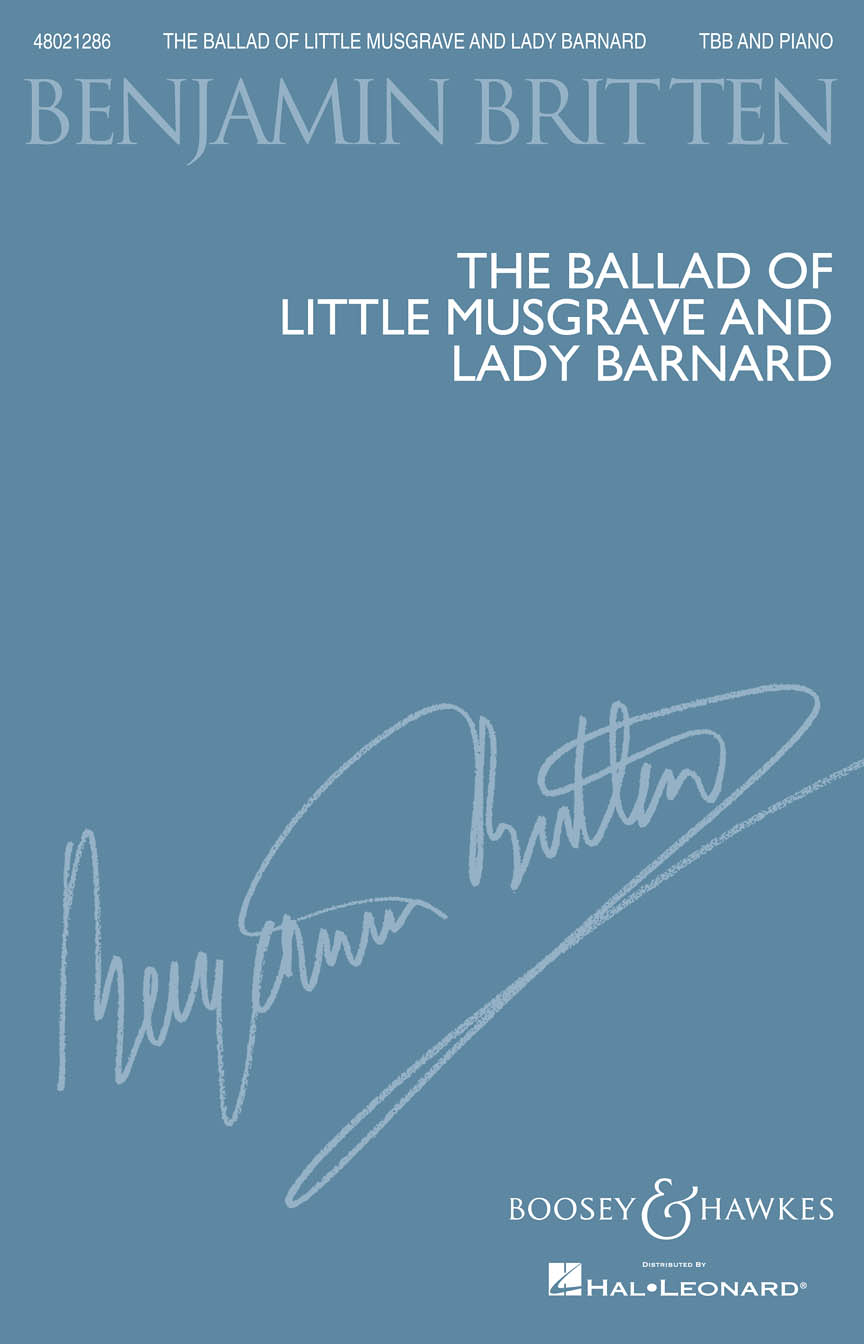 Product Cover for The Ballad of Little Musgrave and Lady Barnard