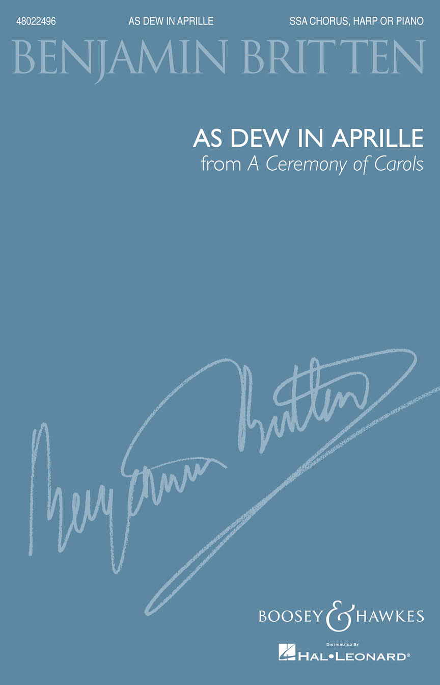 Product Cover for As Dew in Aprille (from A Ceremony of Carols)