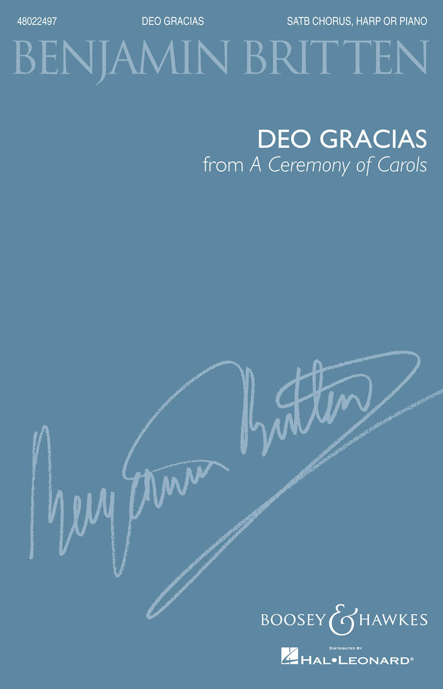 Product Cover for Deo Gracias (from A Ceremony of Carols)