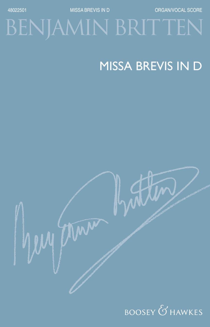 Product Cover for Missa Brevis in D – New Edition