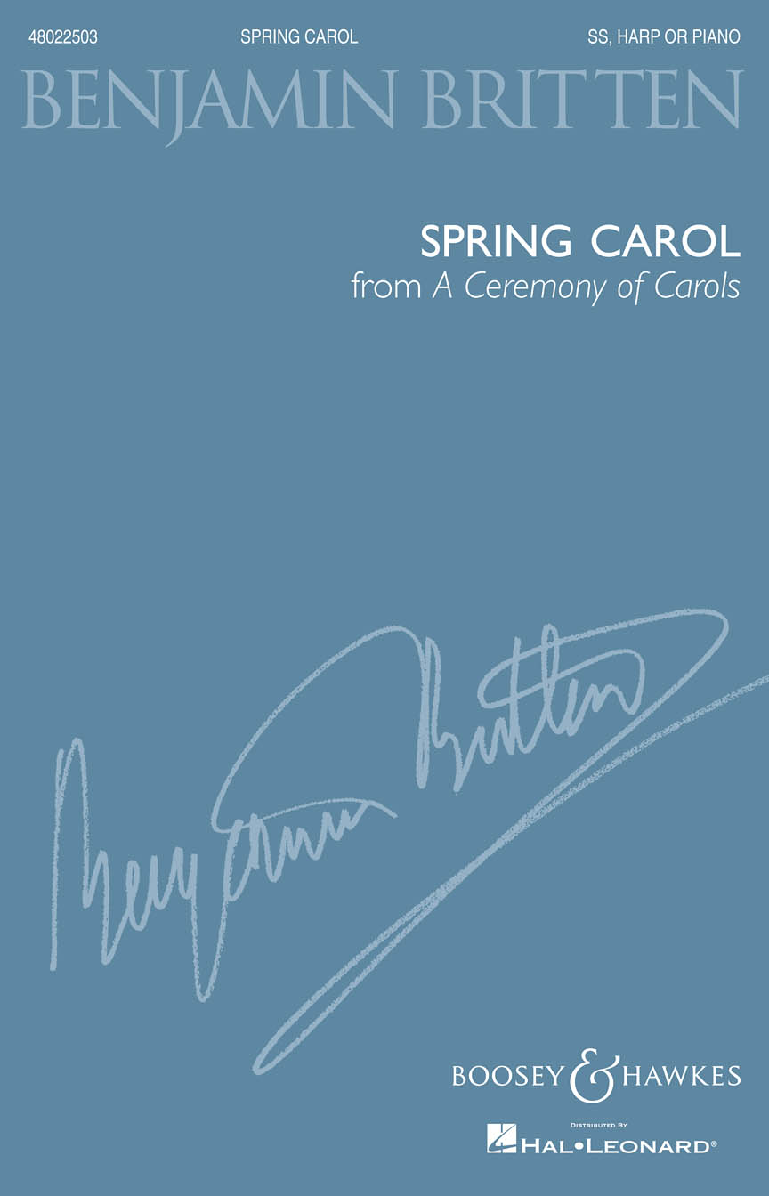Product Cover for Spring Carol (from A Ceremony of Carols)