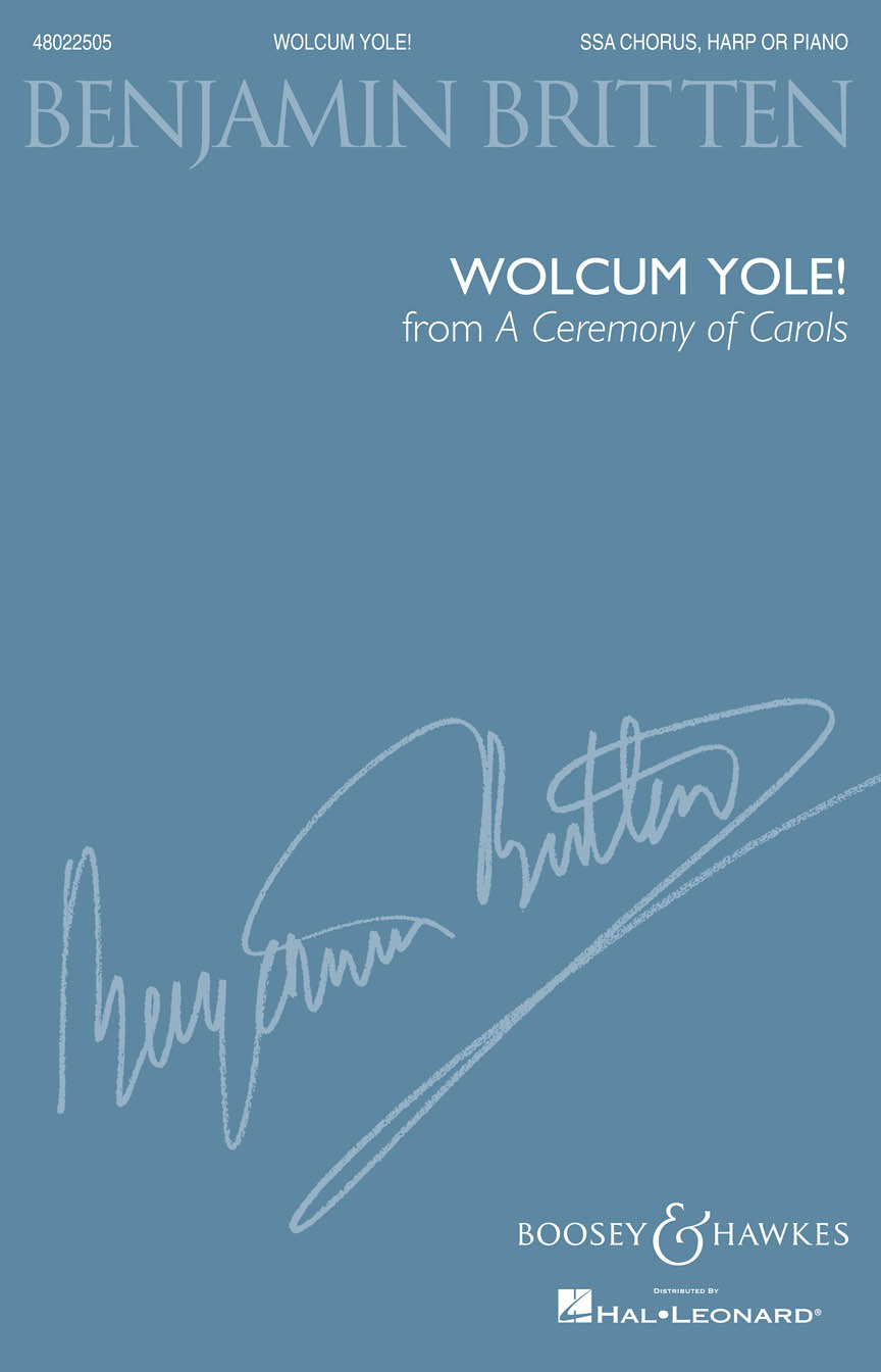 Product Cover for Wolcum Yole (from A Ceremony of Carols)