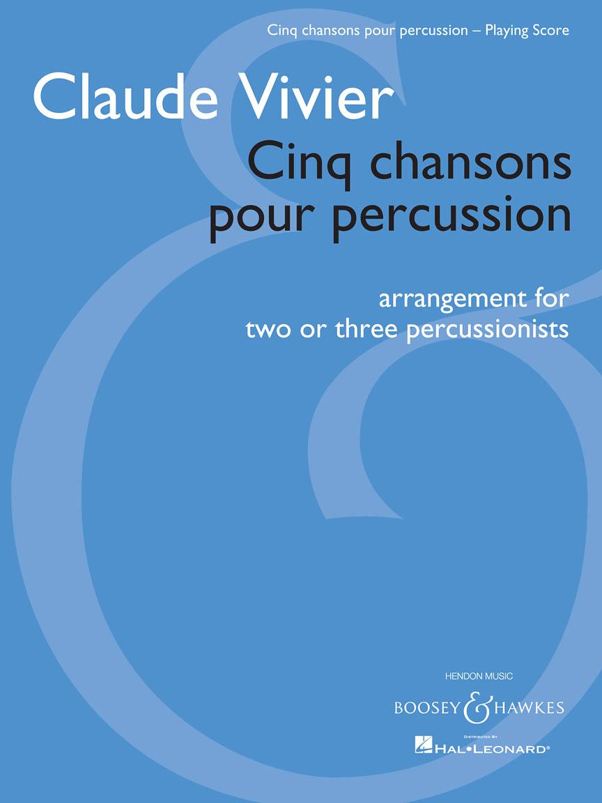 Cinq chansons pour percussion