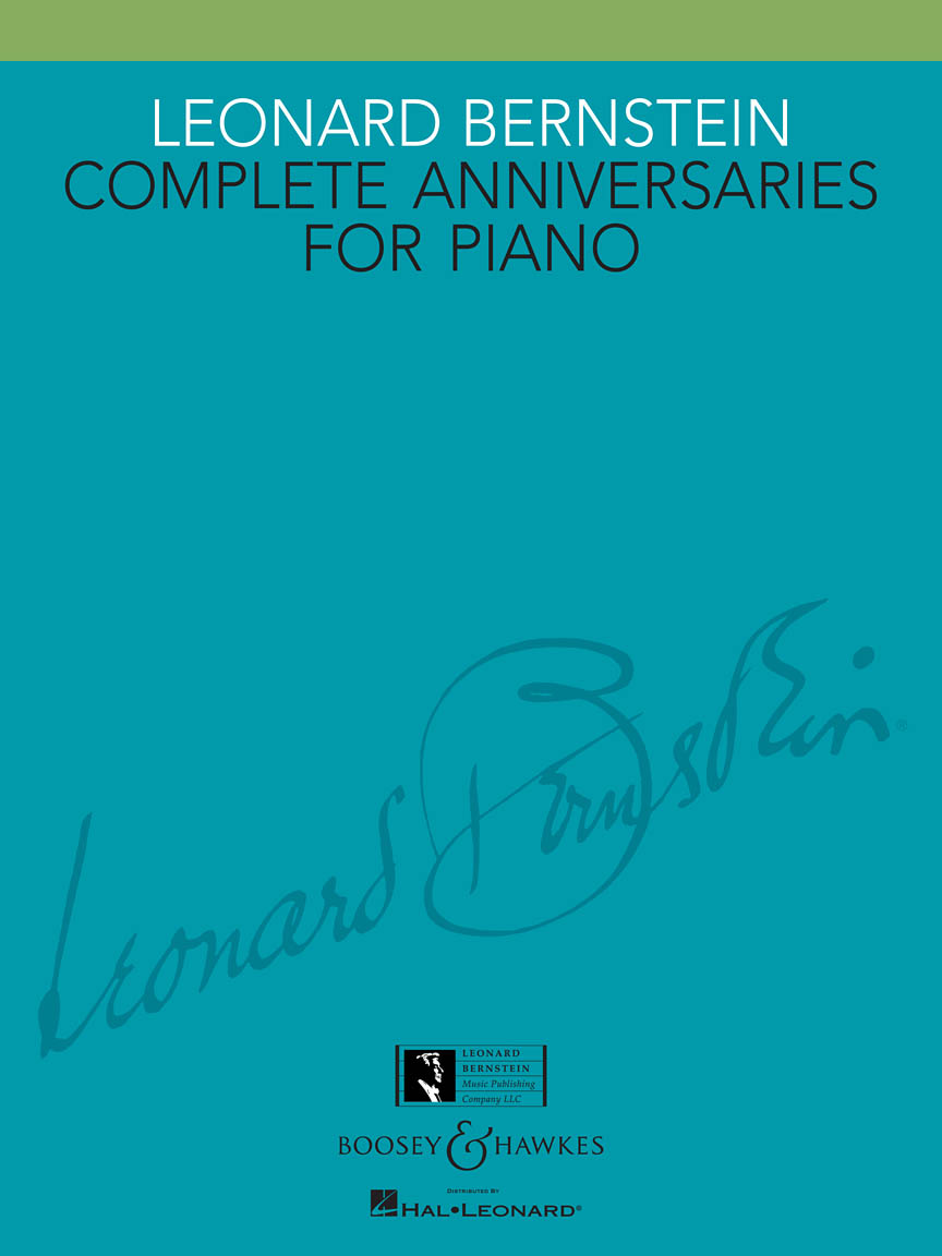 Product Cover for Leonard Bernstein – Complete Anniversaries for Piano