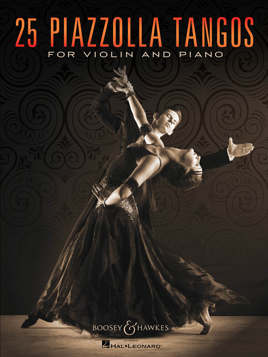 Product Cover for 25 Piazzolla Tangos for Violin and Piano