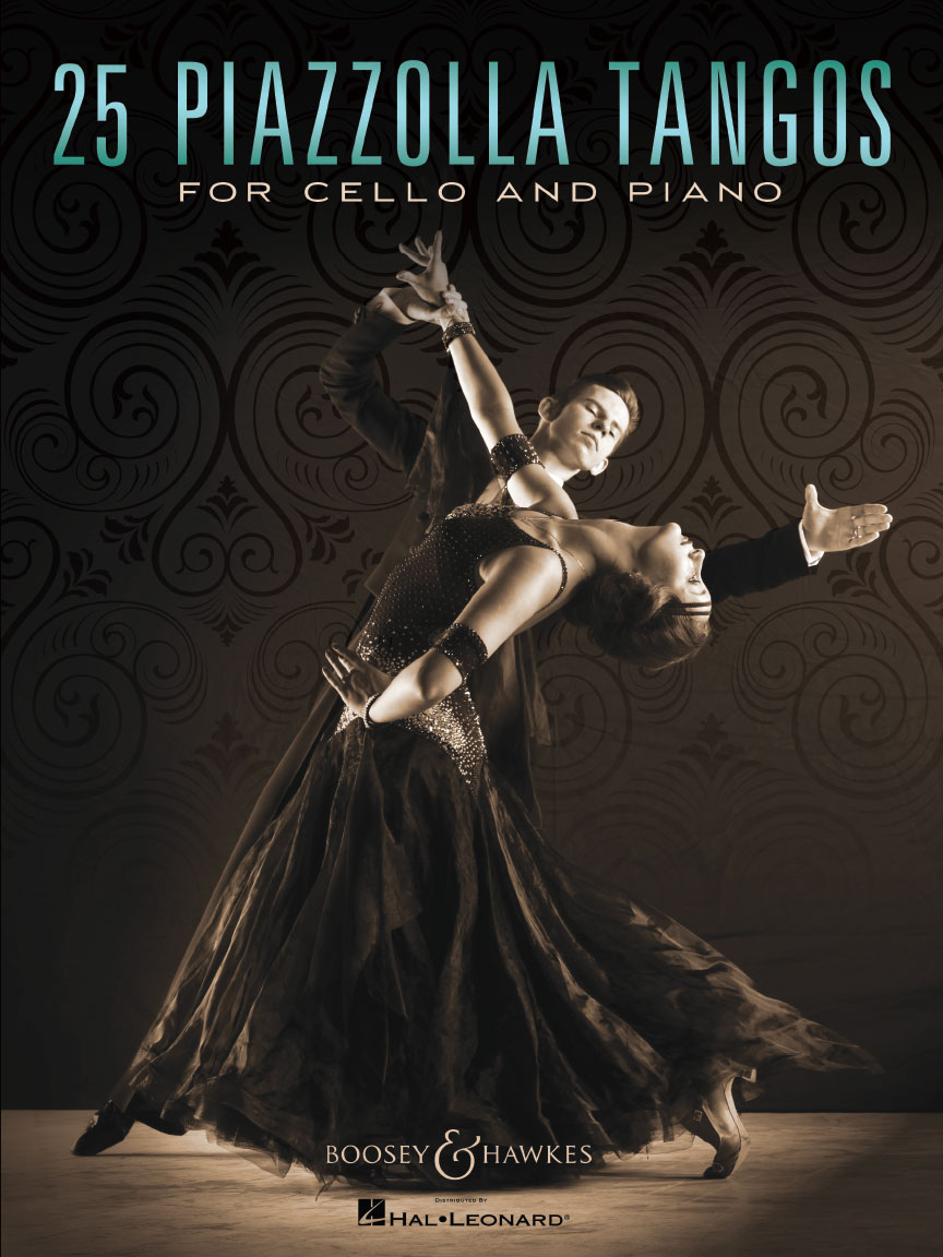 Product Cover for 25 Piazzolla Tangos for Cello and Piano