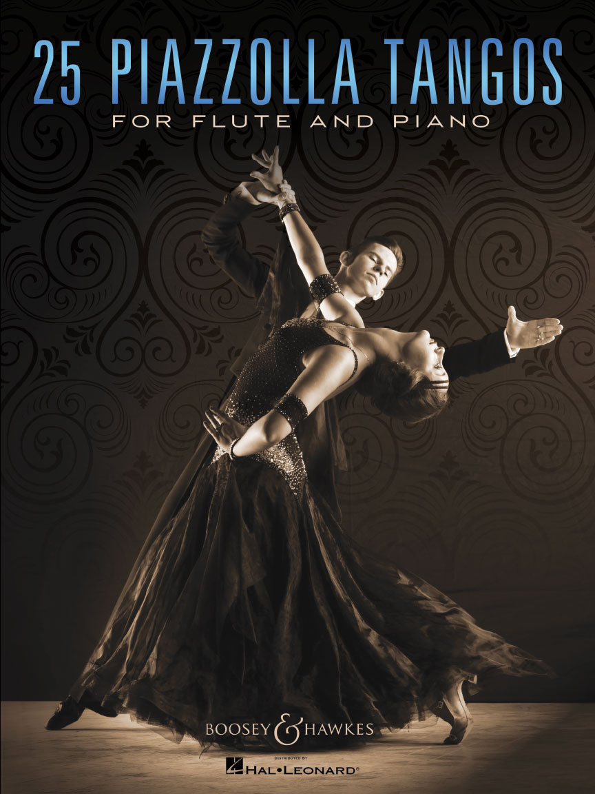 Product Cover for 25 Piazzolla Tangos for Flute and Piano