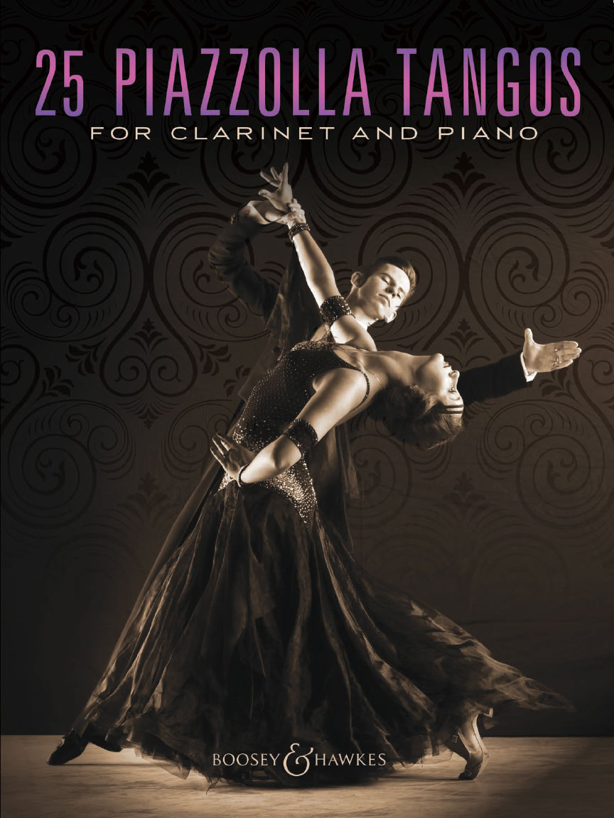 Product Cover for 25 Piazzolla Tangos for Clarinet and Piano