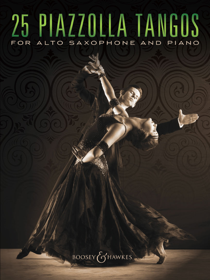Product Cover for 25 Piazzolla Tangos for Alto Saxophone and Piano